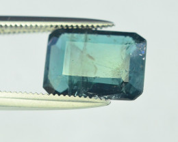 2.75 Carats Indicolite Color Tourmaline Gemstones