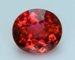 Amazing Reddish Color 3.66 ct Tourmaline SKU.26