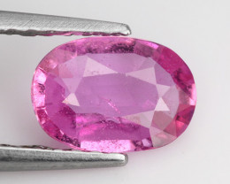 0.89 Ct Pink Sapphire Untreated Top Class Gemstone PS15