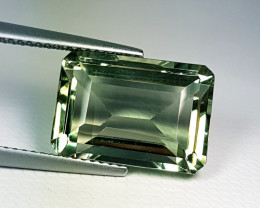 "10.75 ct ""Collective Gem"" Stunning Octagon Cut Natural Green Amet"