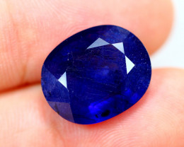 9.56cts Royal Blue Sapphire Oval Cut