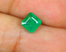 1.06ct Zambia Green Emerald Lot LZS05