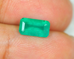 1.59ct Zambia Green Emerald Lot LZS06