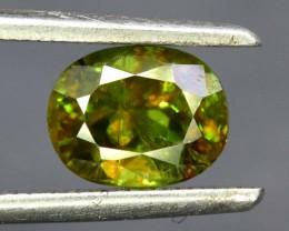 $15 NR Auction - 1.50 cts Sphene Titanite Gemstone from Skardu Pakistan