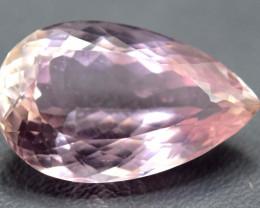 $15 NR Auction - 10.65 Carats Natural Peach Pink Kunzite Gemstone