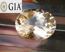 GIA - 21.88cts,  Morganite,   VVS1 Eye Clean,  Luminous