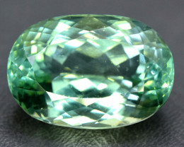 No Reserve - 21.55 Carats Lush Green Spodumene from Afghanistan