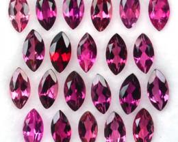 4.60 Cts Marvelous Marquise Cut Pink Tourmaline 6x3 mm Parcel 22 Pcs