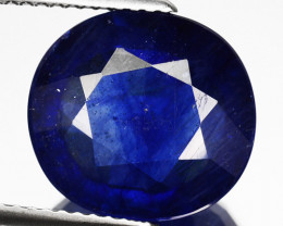 8.95 Cts Natural Corundum Composite Blue Sapphire Cushion Cut