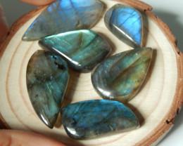 103cts wholesale labradorite cabochon beads semi-gem (A372)