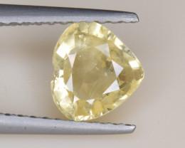 Natural Sapphire 1.14 Cts, Heart Shape, No Heat from Sri Lanka