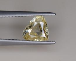 Natural Sapphire 1.16 Cts, Heart Shape, No Heat from Sri Lanka