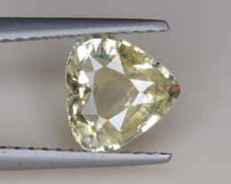 Natural Sapphire 1.53 Cts, Heart Shape, No Heat from Sri Lanka