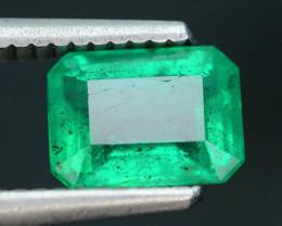 AIG Certified 1.57 ct Zambian Emerald SKU-10