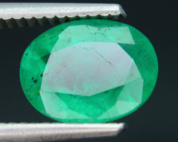 AIG Certified 2.59 ct Zambian Emerald SKU-10