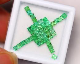 2.07Ct Natural Vivid Green Zambian Emerald Auction ~ B05/14