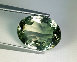 "10.70 ct "" Collective Gem"" Superb Oval Cut Natural Green Amethyst"