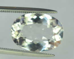 NR:- 5.45 Carats Natural Morganite Gemstone