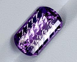 4.30Crt Amethyst Fancy Special Cut Best Grade Gemstones JI125