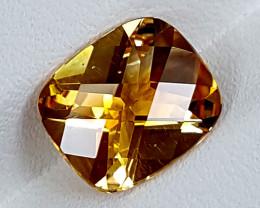 3Crt Madeira Citrine  Best Grade Gemstones JI125