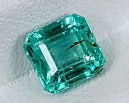 0.85Crt Emerald Of Afghanistan Best Grade Gemstones JI125