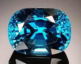 14.05ct Blue Zircon