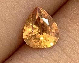 Orange Sapphire - Ceylon - Unheated - 18 year old stock
