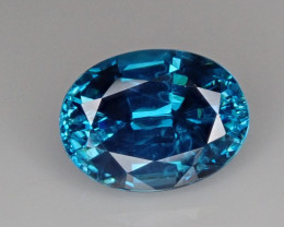 3.59ct Blue Zircon