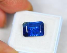 6.67ct Blue Kyanite Octagon Cut Lot V2802