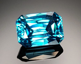 5.62ct Blue Zircon