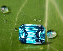 5.62ct Blue Zircon