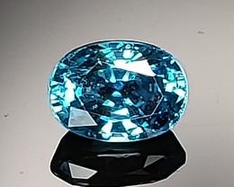 1.53ct Blue Zircon