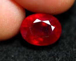 3.20cts Madagascar VS Blood Red Ruby B48