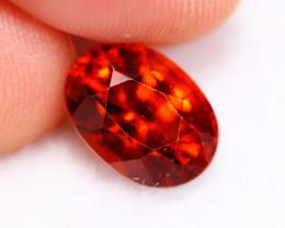 3.26cts Natural Reddish Orange Garnet B33