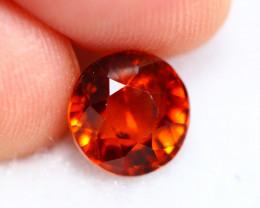 2.81cts Natural Reddish Orange Garnet B23