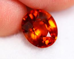 2.82cts Natural Reddish Orange Garnet B24