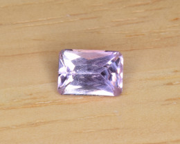 Natural Imperial Topaz 1.09 Cts Faceted Gemstone from Katlang, Pakistan