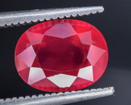 3.50 Crt Composite Ruby Faceted Gemstone (R56)