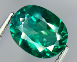 3.19 Crt Natural Green Topaz Beautifulest Faceted Gemstone.( AG 82)
