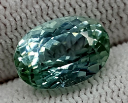 5.25CT GREEN SPODUMENE  BEST QUALITY GEMSTONE IGC28