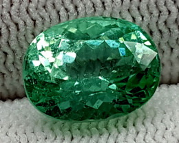 4.80CT GREEN SPODUMENE  BEST QUALITY GEMSTONE IGC28