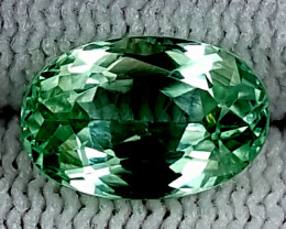3.40CT GREEN SPODUMENE  BEST QUALITY GEMSTONE IGC28