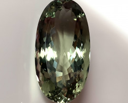 60.00ct REGAL Green Amethyst  (Prasiolite) - TOTALLY STUNNING GEM/JEWEL Cer