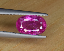 Natural Sapphire Vivid Pink 1.10 Cts from Afghanistan