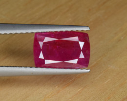 Natural Ruby 2.49 Cts from Afghanistan