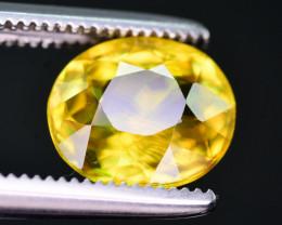 Amazing Fire 1.75 Ct Natural Titanite Sphene. ARA