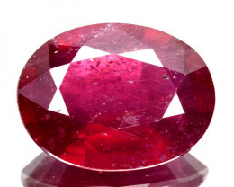 4.10Ct Beautiful Natural Ruby Oval Mozambique