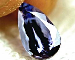 CERTIFIED - 3.94 Carat IF/VVS1 African Purplish Blue Tanzanite