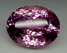 286.35CT TOP PINK KUNZITE FOR COLLECTION