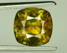 Top Fire 1.65 ct Chrome Sphene from Himalayan Range